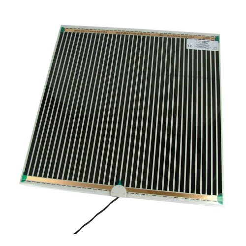 500x490mm Mirror Demister Pad 46W Self-adhesive and Double Insulated for Mist-free Mirror, BN Thermic MD5-49
