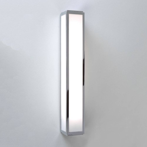 Mashiko 600 LED Bathroom Light 10.6W 3000K 394lm IP44 Polished Chrome with Frosted Diffuser, Astro 1121018