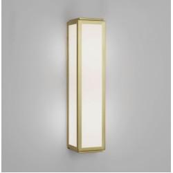 Mashiko 360 Classic Bathroom Wall Light IP44 in Matt Gold with White Diffuser 2 x E14 40W, Astro 1121037