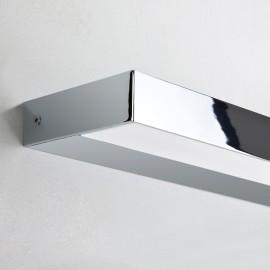 Axios 600 LED Bathroom Wall Light in Polished Chrome IP44 12.8W 3000K for Vertical/Horizontal Mounting Astro 1307007