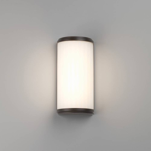 Monza 250 LED Bronze Bathroom Wall Light 4.7W 3000K IP44 rated with Diffuser, Astro 1194019