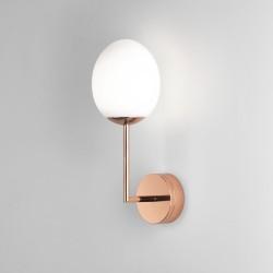 Kiwi LED Bathroom Wall Light in Polished Copper 7.2W 2700K LED Light IP44 Astro 1390001