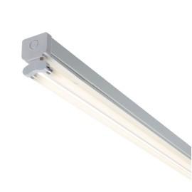 2 x 35W 5ft 1475mm Fluorescent Twin T5 Batten Light Fitting IP20 in White (no batten)