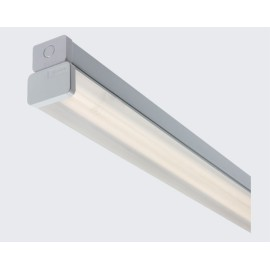 4ft Prismatic Diffuser for Single or Twin 28W T5 Batten Fluorescent Fittings