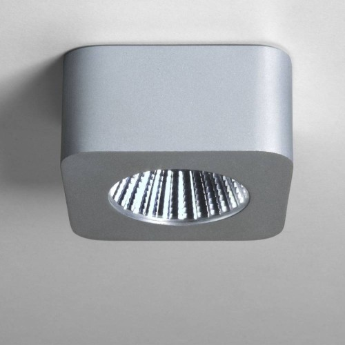 Samos Square Under Cabinet Surf 4.5W Mains LED Light 2700K in Anodised Aluminium, Under Cabinet Light Astro Lighting 1255003
