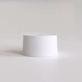 Tapered 320 Pendant White Fabric Shade Round with E27/ES Ring 175m x 320mm Diameter, Astro 5012001