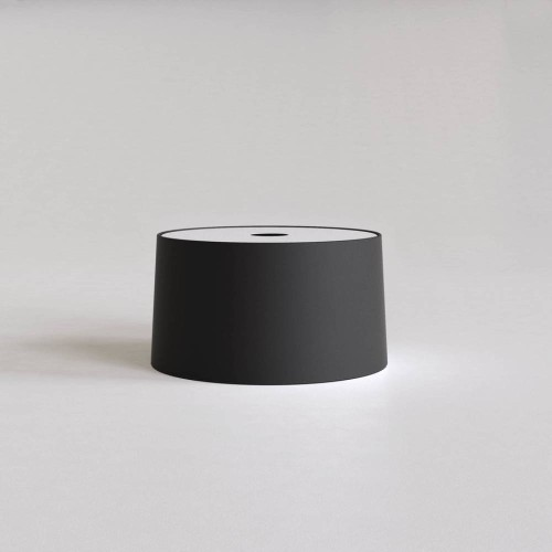 Tapered 320 Pendant Black Fabric Shade Round with E27/ES Ring 175m x 320mm Diameter, Astro 5013021