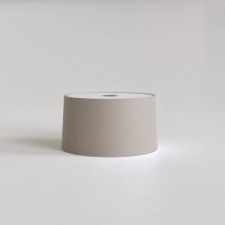 Tapered 320 Pendant Putty Fabric Shade Round with E27/ES Ring 175m x 320mm Diameter, Astro 5013022