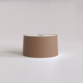 Tapered 320 Pendant Mocha Fabric Shade Round with E27/ES Ring 175m x 320mm Diameter, Astro 5013023