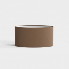 Oval 285 Mocha Shade 145 x 285 x 130mm ideal for the Napoli Wall Lamps, Astro 5014016