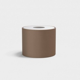 Drum 200 Mocha Fabric Shade with E27/ES Shade Ring 160mm height x 200mm diameter, Astro 5016076