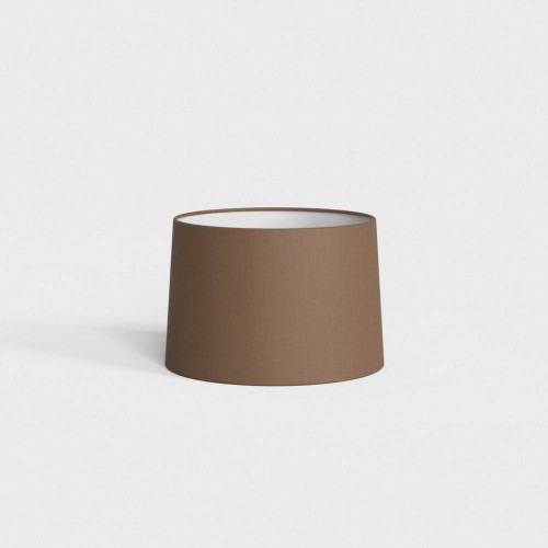 Tapered Round 215 Mocha Fabric Shade with E27/ES Shade Ring, Astro 5035011