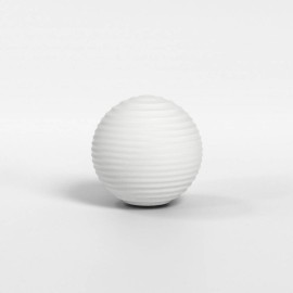 Tacoma Ribbed Glass Diffuser in White Opal Glass 135mm Diameter for the Tacoma Wall Lamps, Astro 5036004