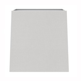 Azumi / Lambro Tapered Square 175 White Fabric Shade with E27/ES Shade Ring and E14 Reducer, Astro 5005001