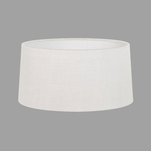 Tapered Round 440 White Fabric Shade with E27/ES Shade Ring for Azumi/Telegraph Floor Lamps, Astro 5009003