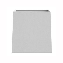 Lambro Tapered Square 125 White Fabric Shade with a E14/SES Shade Ring, Astro 5010001