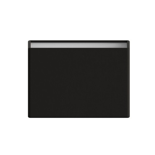 Rectangle 180 Black Fabric Shade 120 x 180 x 100mm with E14/SES ring for Connaught Lamps, Astro 5011002