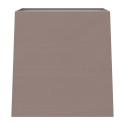 Azumi / Lambro Tapered Square 175 Oyster Fabric Shade with E27/ES Shade Ring and E14 Reducer, Astro 5005003