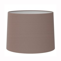 Tapered Round 215 Oyster Fabric Shade with E27/ES Shade Ring, Astro 5006003