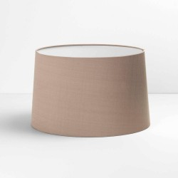 Tapered Round 320 Oyster Fabric Shade with E27/ES Ring 200m x 320mm Diameter, Astro 5012001