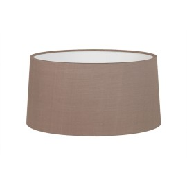 Tapered Round 440 Oyster Fabric Shade with E27/ES Shade Ring for Azumi/Telegraph Floor Lamps, Astro 5012002