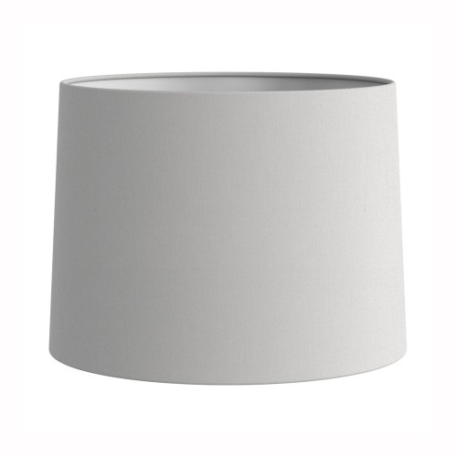 Tapered Drum 177 White Fabric Shade (round) with E27/ES Shade Ring and E14 Shade Reducer, Astro 5013001