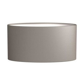 Oval 285 Oyster Shade 145 x 285 x 130mm ideal for the Napoli Wall Lamps, Astro 5014003