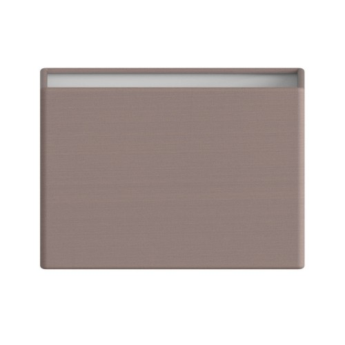 Rectangle 180 Oyster Fabric Shade 120 x 180 x 100mm with E14/SES ring for Connaught Lamps, Astro 5011003