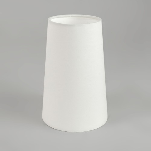 Cone 240 White Fabric Shade with E27/ES Ring for Riva 350 Wall Bracket / Wall Lamp, Astro 5018004