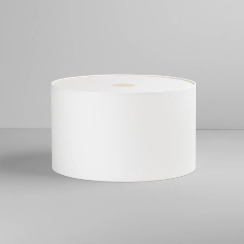 Drum 420 White Fabric Shade with E27/ES Shade Ring 250mm height x 420mm diameter, Astro 5016004