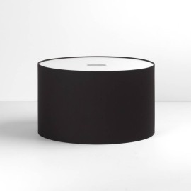 Drum 420 Black Fabric Shade with E27/ES Shade Ring 250mm height x 420mm diameter, Astro 5016005