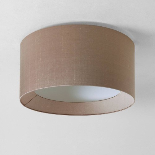 Bevel Round 600 Oyster Fabric Shade for Astro 7057 4-Way Plate (shade only), Astro 5021009