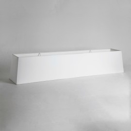 Rafina White Fabric Shade with E27/ES Shade Ring 200x1000x200mm for Rafina Pendants, Astro 5025001