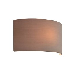 Semi Drum 320 in Oyster Fabric Finish with E27/ES Shade Ring for Astro Wall Lights, Astro 5026003