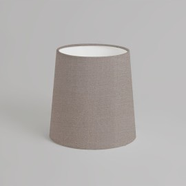 Cone 160 Oyster Fabric Shade 160mm height x 160mm diameter with E27/ES Ring, Astro 5018013