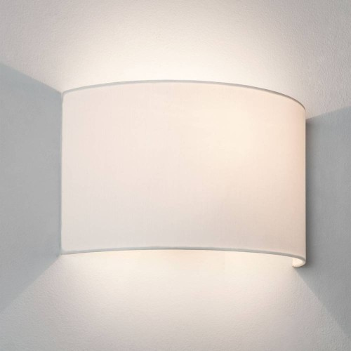 Petra 180 Shade in White for the Backplate 3 Wall Bracket, Astro 5027001