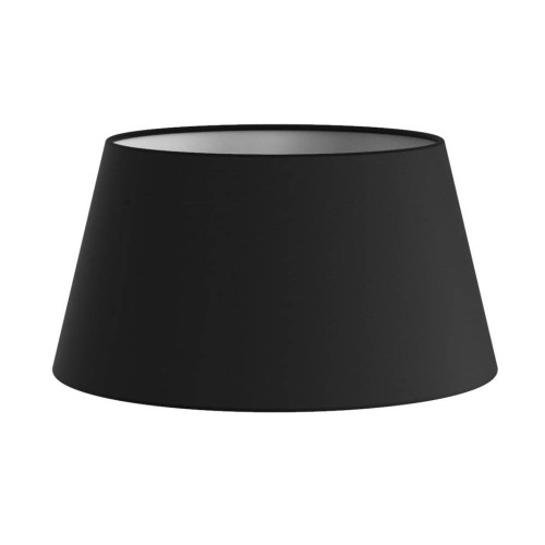 Tapered Drum 95 Black Fabric Shade (round) with E14/SES Shade Ring 90mm x 170mm, Astro 5013004