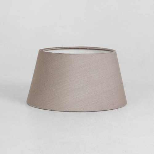 Tapered Drum 95 Oyster Fabric Shade (round) with E14/SES Shade Ring 90mm x 170mm, Astro 5013005