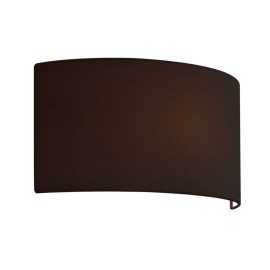 Semi Drum 400 Black Shade with E27/ES Shade Ring for the Valbonne Wall Lights 200 x 400 x 135mm Astro 5029001