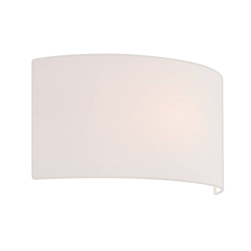 Semi Drum 400 White Shade with E27/ES Shade Ring for the Valbonne Wall Lights 200 x 400 x 135mm Astro 5029002