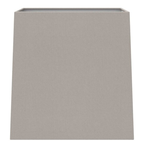 Tapered Square 175 Putty Fabric Shade with E27/ES Shade Ring and E14 Reducer, Azumi / Lambro Astro 5005002