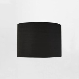 Drum 200 Black Fabric Shade with E27/ES Shade Ring 160mm height x 200mm diameter, Astro 5016021