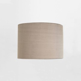 Drum 200 Oyster Fabric Shade with E27/ES Shade Ring 160mm height x 200mm diameter, Astro 5016022