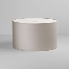 Drum 420 Putty Fabric Shade with E27/ES Shade Ring 250mm height x 420mm diameter, Astro 5016028