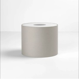 Drum 200 Putty Fabric Shade with E27/ES Shade Ring 160mm height x 200mm diameter, Astro 5016029