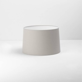 Tapered Round 320 Putty Fabric Shade with E27/ES Ring 200m x 320mm Diameter, Astro 5009005