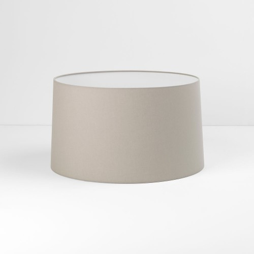 Tapered Round 440 Putty Fabric Shade with E27/ES Shade Ring for Azumi/Telegraph Floor Lamps, Astro 5009006