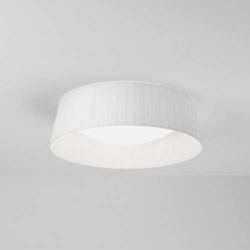Pleat 370 White Fabric Shade (round) 110mm x 370mm for use with Massa 300, Astro 5013007