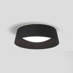 Pleat 370 Black Fabric Shade (round) 110mm x 370mm for use with Massa 300, Astro 5013008