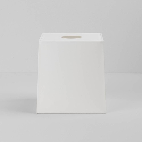 Ravello Tapered Square 175 White Shade with diffuser and E27/ES Shade Ring for the Ravello Wall Lamps, Astro 5030004